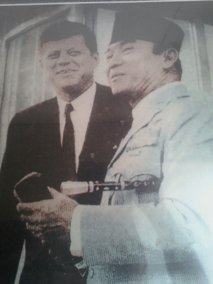 Soekarno dan John F. Kennedy
