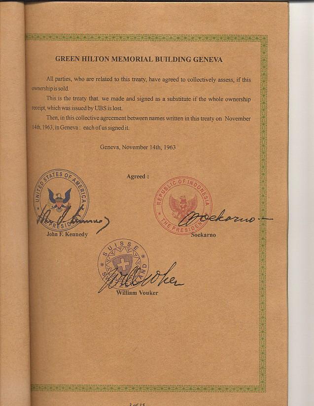 Ini merupakan salah satu halaman penting dalam dokumen lengkap the green hilton memorial agreement. ada kecocokan tanggal penandatangannya dengan diagram.