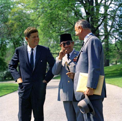 JFK-Sukarno